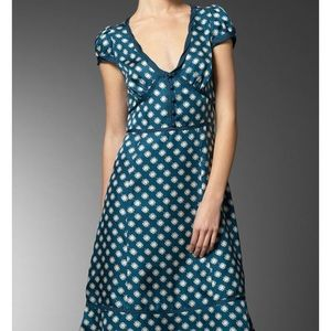 Marc Jacobs Silk Yoko Flower Dress